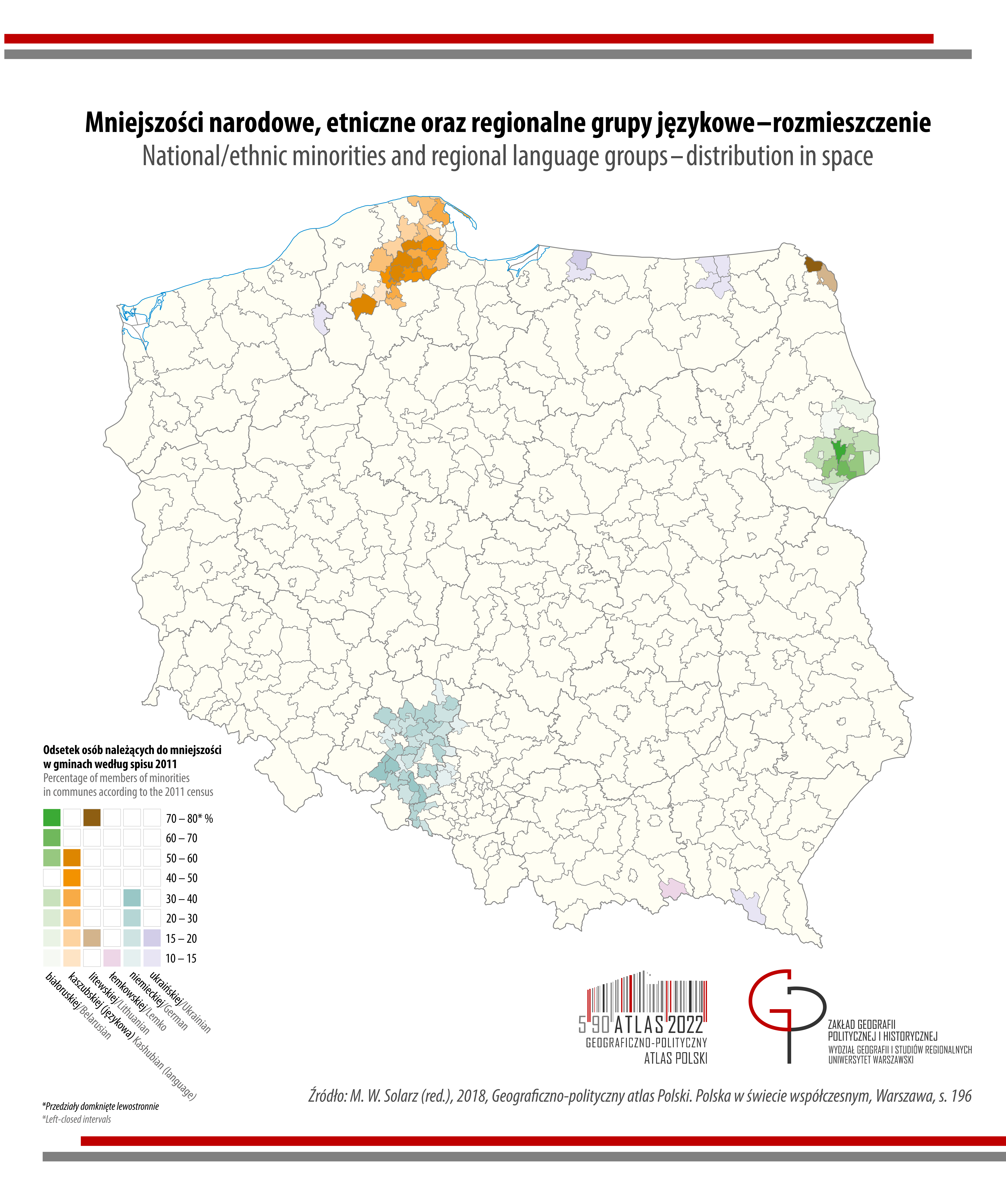 mniejszości w Polsce