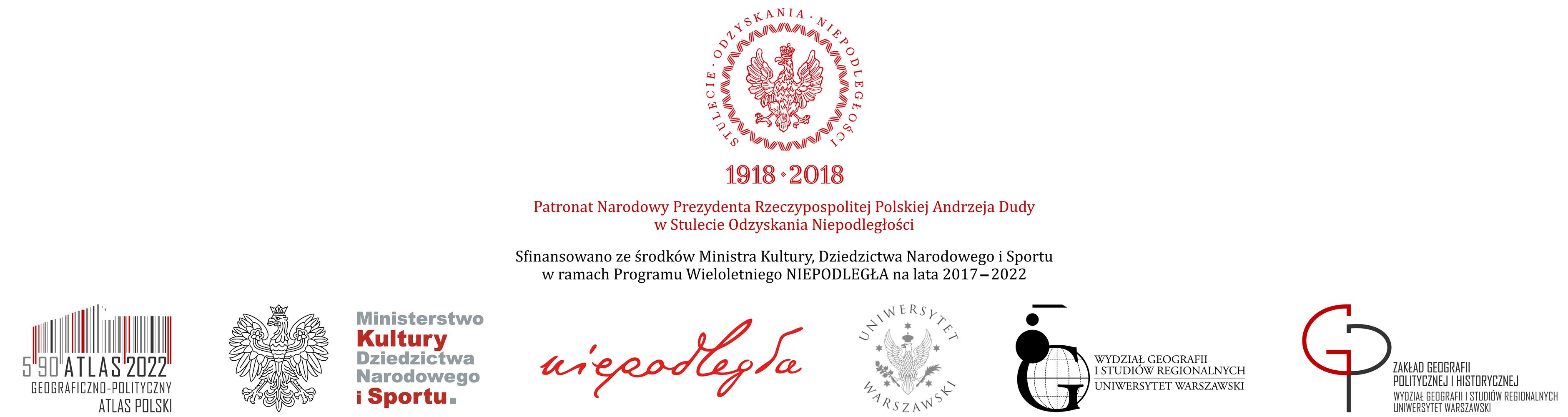 Geograficzno-polityczny atlas Polski. Perspektywa 2022 Logo